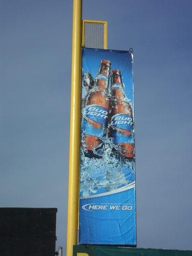 Bud Light Foul Pole 2.JPG